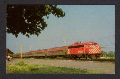 PQ Canadian Pacific Railroad Train BEACONSFIELD QUEBEC