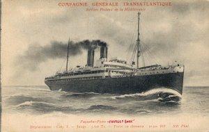 Nautica Compagnie Generale Transatlantique Services Postaux de la Méditerr 03.29