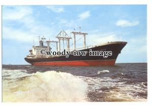 cd0378 - French Cargo Ship - Georges Vieljeux , built 1971 - postcard