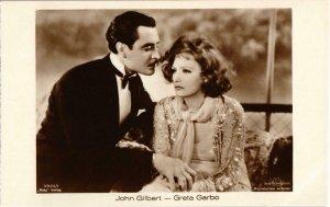 CPA AK FILM STAR Greta Garbo (88558)