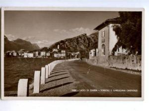 173775 ITALY Lago di Garda Torbole Gardesana Vintage postcard