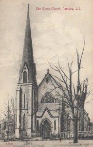 JAMAICA , L.I. , New York, 1908 ; The Grace Church