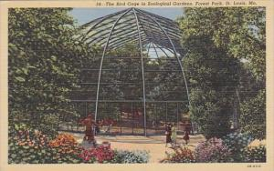 The Bird Cage In Zoological Gardens Forest Park Saint Louis Missouri