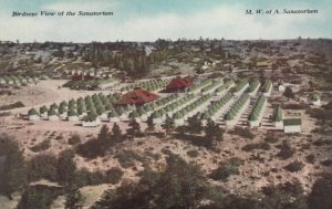 COLORADO SPRINGS, Colorado, 1900-10s ; Birdseye View of Woodman Sanatorium