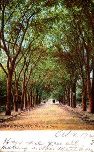 Massachusetts New Bedford Hawthorne Street 1906