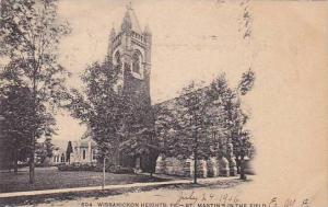 St. Martin's in the Field, Wissahickon Heights, Pennsylvania, PU-1906