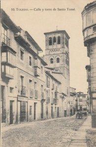 TOLEDO, Spain , 00-10s ; Calle y torre de Santo Tome