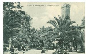 Italy, Bagni di Montecatini, Torretta, Piazzale, 1927 used