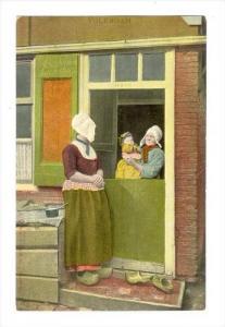Scene In Volendam (North Holland), Netherlands, 1900-1910s