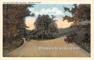 Old Vintage Shaker Post Card The Old Road and The New Lebanon Valley, New Yor...