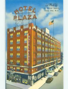 Shops On Street & Plaza Hotel & Restaurant Jersey City New Jersey NJ hr7026