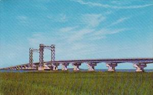 Georgia Brunswick New Sidney LAnier Bridge Spanning The Brunswick River