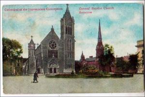 Cathedral & Baptist Church, Syracuse NY