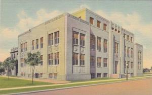 Exterior, Curry County Court House, Clovis, New Mexico,30-40s