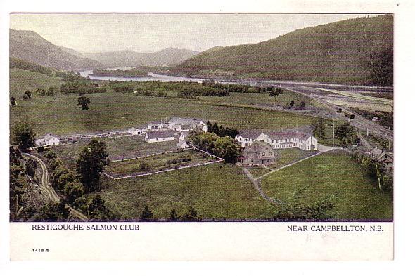 Restigouche Salmon Club, Campbellton, New Brunswick, Warwick 1418S