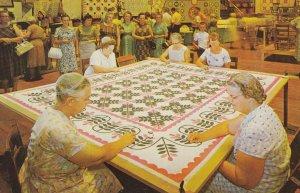 HERSHEY , Pennsylvania , 1950-60s ; Quilting