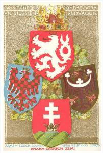 13592 Znaky Ceskych Zemi  Czech Coat of Arms