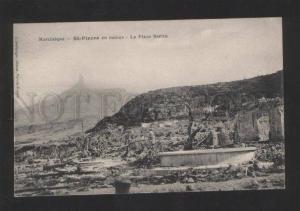 054952 Martinique ruines de St-Pierre Vintage PC#2