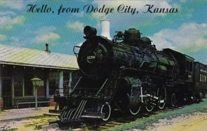 Kansas Dodge City Boot Hill Museum Santa Fe Railway Locomotive No 1139