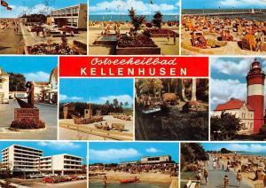 Ostseeheilbad Kellenhusen multiviews Strand Promenade Leuchtturm Schiff Auto