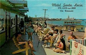 Canada, Quebec, Ste. Luce-Sur-Mer, Motel Santa Lucia, Cte. Rimouski, W. Schermer