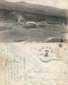 OPHIR ALASKA ANTIQUE REAL PHOTO POSTCARD RPPC