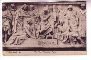 Closeup, Poets, Albert Memorial, England, FGO Stuart 846