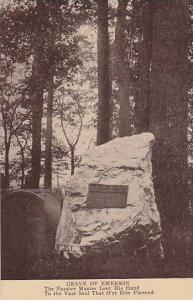 Grave Of Emerson, Concord, Massachusetts, 1900-1910s