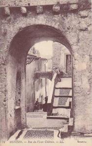 Rue Du Vieux Chateau, Menton (Alpes Maritimes), France, 1900-1910s