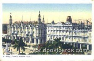 Parque Central Habana Republic of Cuba Unused