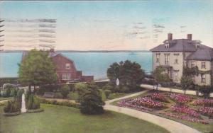 Convent Of Our Lady Of The Cenacle View From Main House Newport Rhode Island ...
