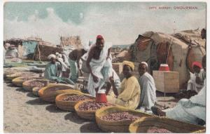Sudan; Date Market, Omdurman PPC, Unposted, Early 20th c Social History Interest