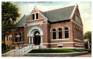 Massachusetts  Amesbury Public Library