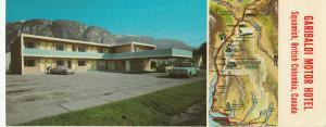 SQUAMISH , B.C. , Canada , 50-60s ; Garibaldi Motor Hotel