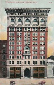DETROIT, Michigan, 1900-10s ; Penobscot Building