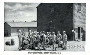 Camp Kilmer, NJ, USA Postcard Post Card New Arrivals