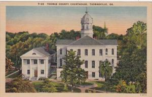 Georgia Thomasville Thomas County Court House