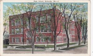 High School Kirksville Missouri