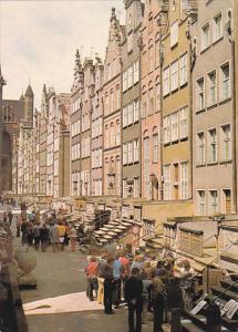 Poland Gdansk Ulica Mariacka
