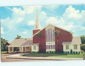 Pre-1980 CHURCH SCENE Winter Haven - Near Lakeland & Lake Wales Florida FL G4091