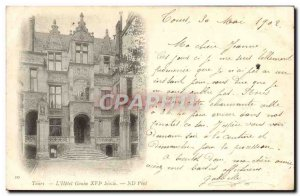 Old Postcard Tours L & # 39Hotel Gouin