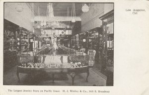 LOS ANGELES, Ca, 1901-07 ; H.J. Whitley Jewelry Store , Interior