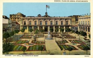 Cuba - Habana. City Hall and Old Senate