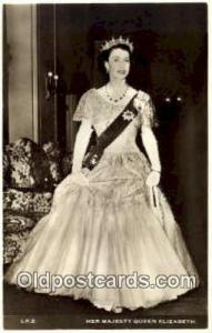 Queen Elizabeth British Royalty Postcard Postcards  Queen Elizabeth