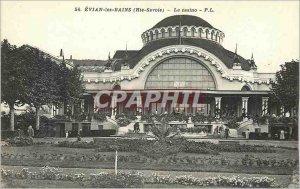 Old Postcard Evian les Bains (Haute Savoie) Casino