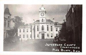 LPCH30 Pine Bluff Arkansas Jefferson County Court House RPPC