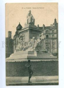 191090 FRANCE PARIS Pasteur monument Vintage postcard