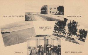 COCOA BEACH , Florida , 1930s ; Ocean Lodge