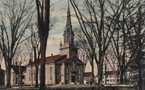 Maine Waterville Baptist Church 1915