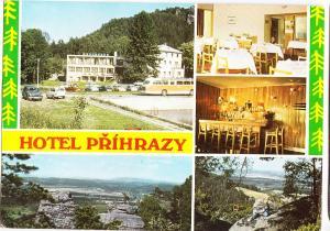 Czech Republic, HOTEL PRIHRAZY, 1975 used Postcard